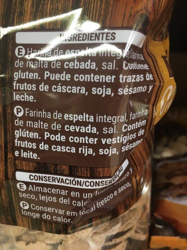 Trigo espelta 0% - Ingredientes - es