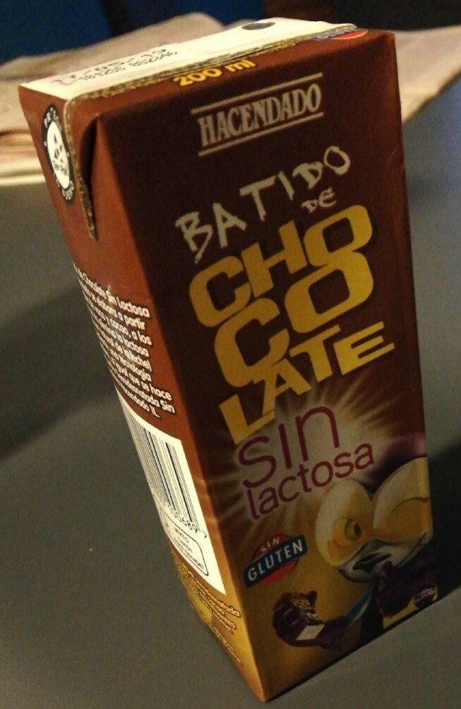 Batido Chocolate sin lactosa - Product