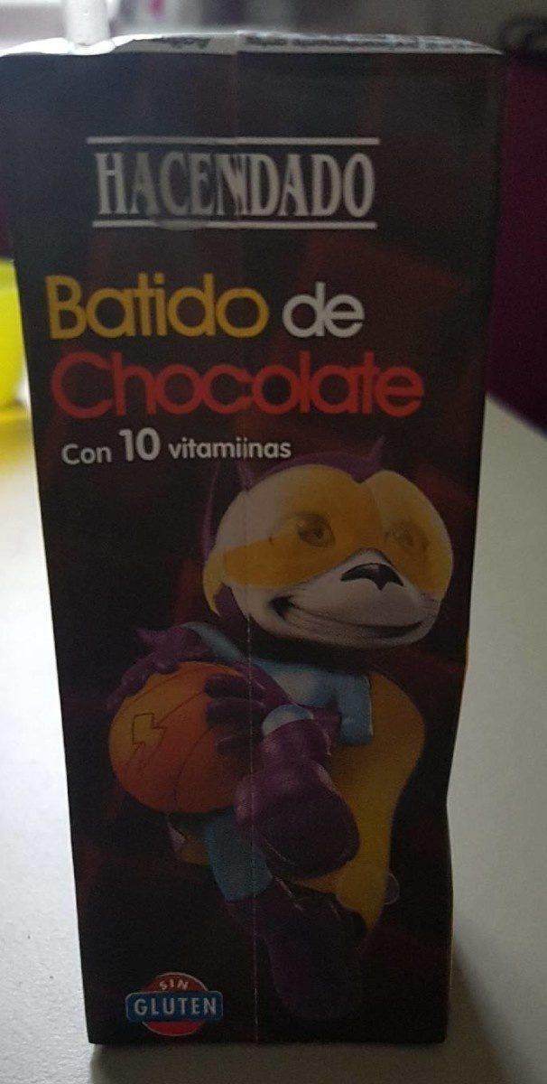 Batido de Chocolate - Producto