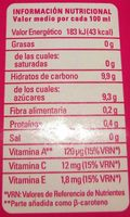 Zumo Tropical Fruta + Leche - Product