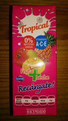Tropical fruta + leche - Product - es