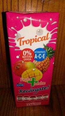 Zumo Tropical Fruta + Leche - Ingredients