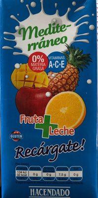 mediterraneo fruta + leche - Producto