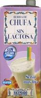 Bebida de chufa sin lactosa - Product - es