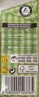 Crema Soja - Nutrition facts - es