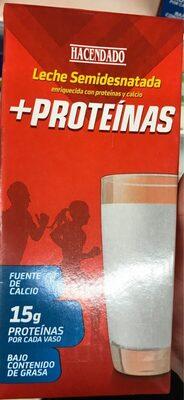 Leche semidesnatada +proteinas - Produit - fr