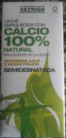 Leche semidesnatada con calcio 100% natural - Product