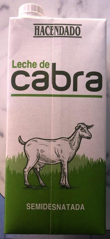Leche de cabra semidesnatada - Prodotto - es