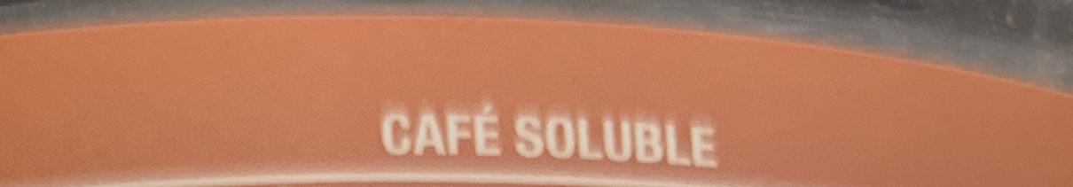 Cafe soluble clasico. Hacendado. - Ingredients