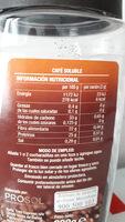 Cafe soluble Clásico - Ingredientes - es