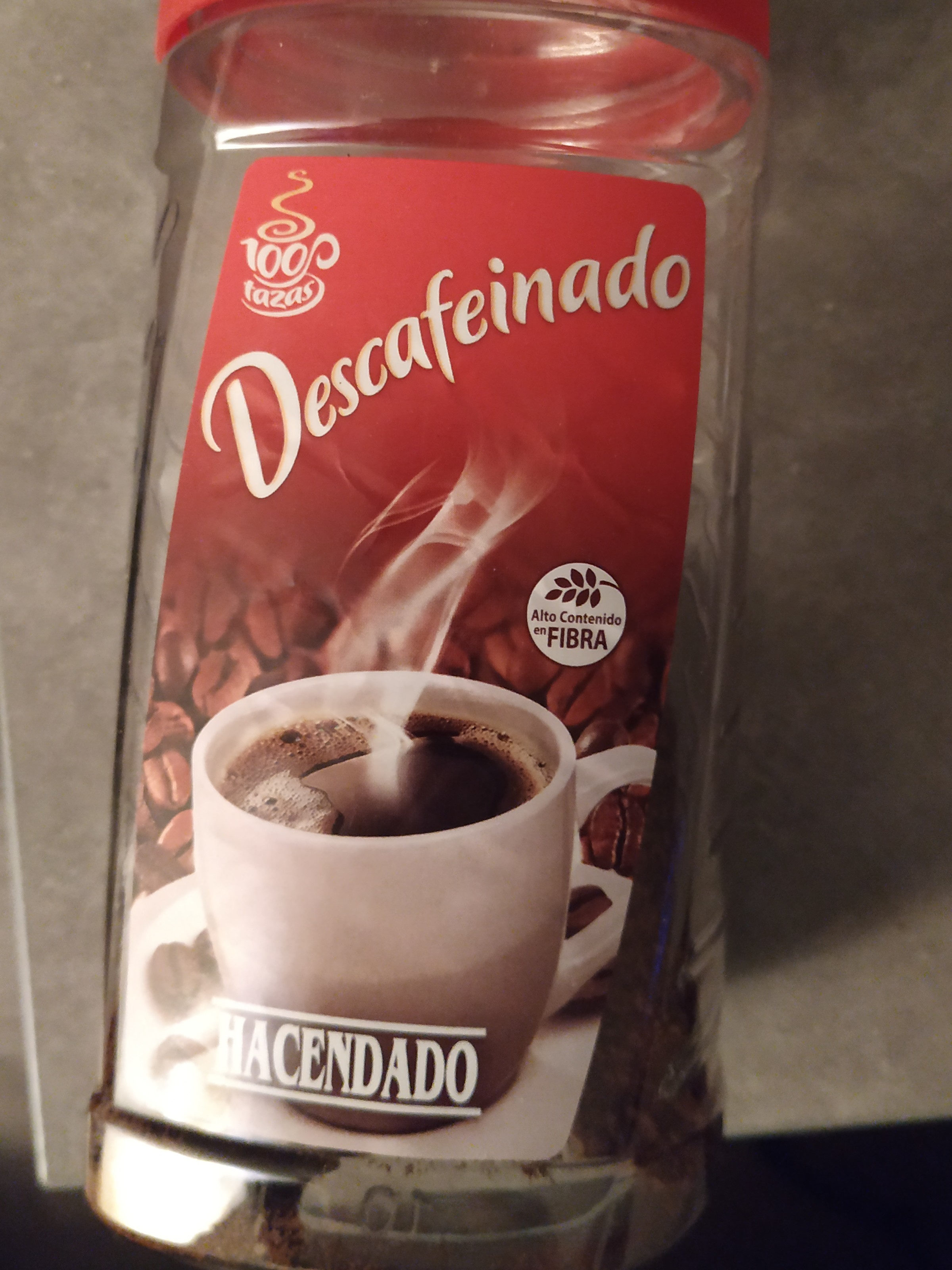 Café descafeinado soluble - Producte