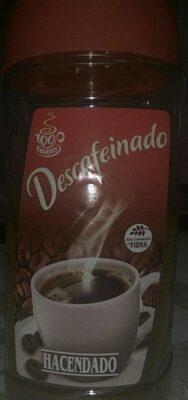 Café descafeinado soluble - Produit