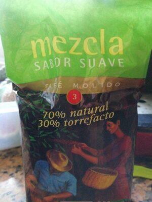 Café Molido de Tueste Natural 70% Y Torrefacto 30%