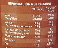 Cappuccino caramelo - Información nutricional - es