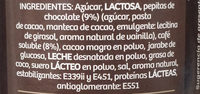 Cappuccino vienés - Ingredientes - es