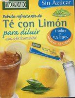 Té con limón - Producto