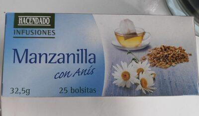 Manzanilla con Anís - Producto