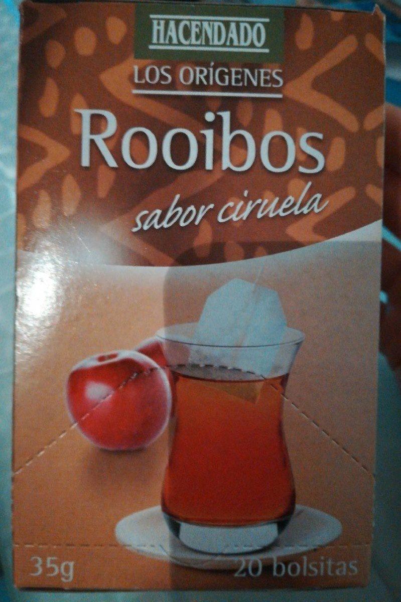 Rooibos sabor ciruela - Produit - es
