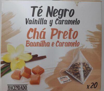 Té Negro Vainilla y Caramelo