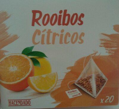 Infusión rooibos citricos