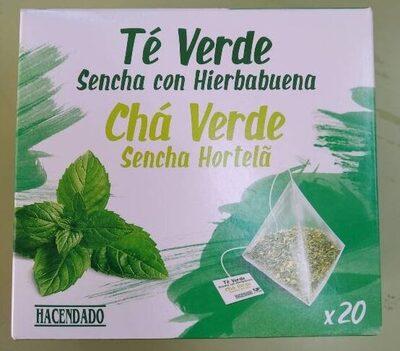 Té verde Sencha con hierbabuena