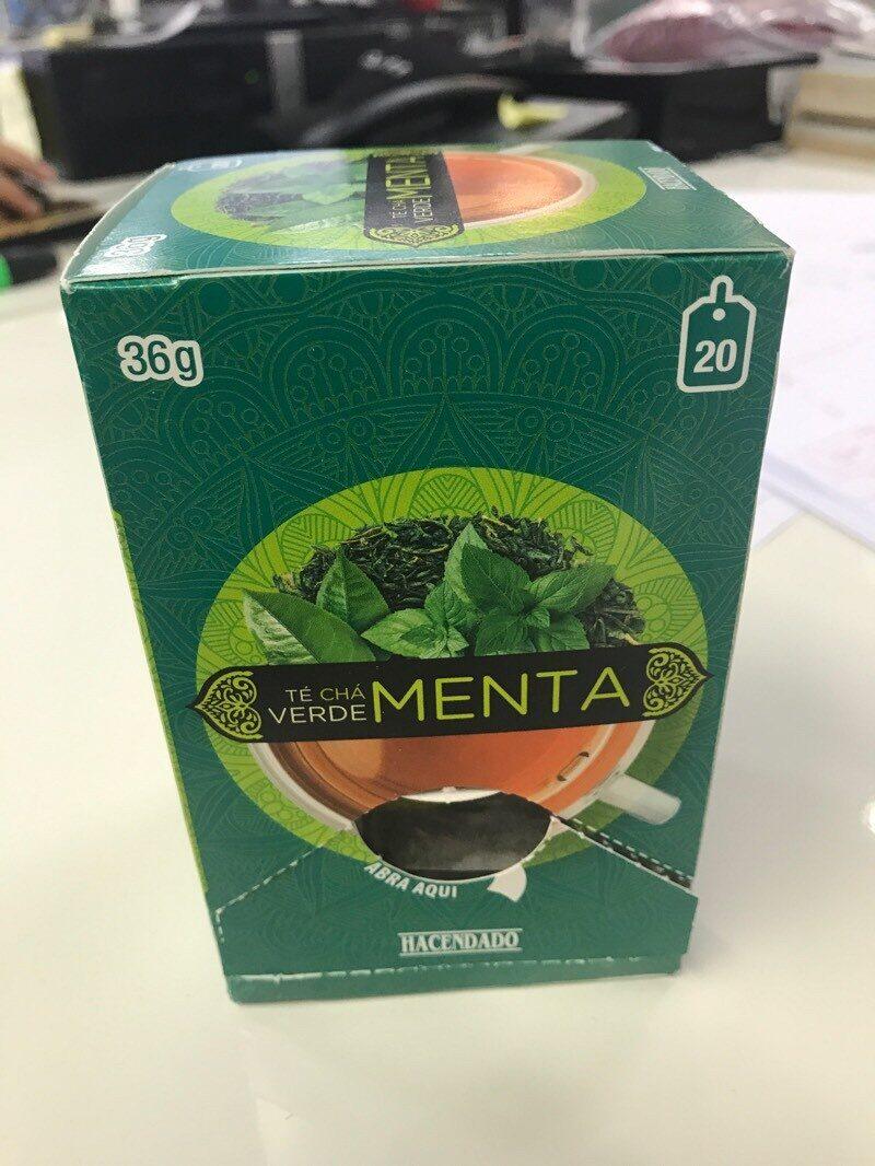 Té verde menta - Product