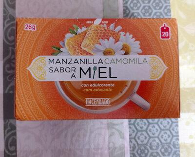 Manzanilla sabor a miel con edulcorante - Producte - es