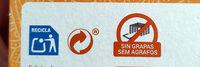 Manzanilla sabor a miel con edulcorante - Instruccions de reciclatge i/o informació d'embalatge - es