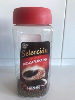 Café soluble descafeinado Selección - Produit