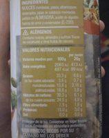 Combinado - Informations nutritionnelles - fr