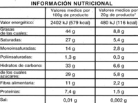 Chocolate negro 72% cacao - Voedigswaarden