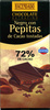 Chocolate negro 72% con pepitas de cacao - Product
