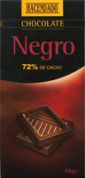 Tableta de chocolate negro 72% cacao - DESCATALOGADO - Producto - es