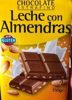 Chocolate con leche con almendras - Producte - es