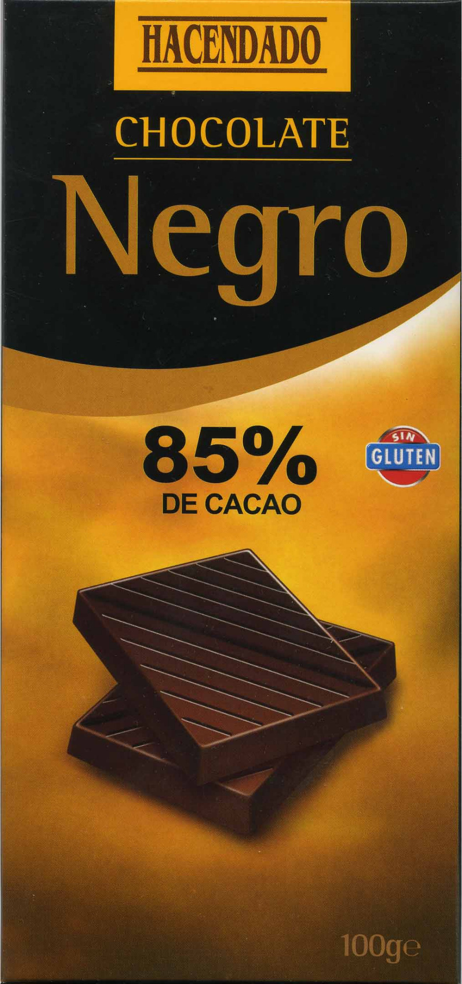 Chocolate negro 85% cacao - Product - es