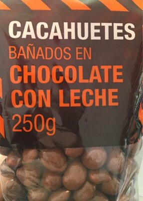 Cacahuetes bañados en chocolate con leche - Producte
