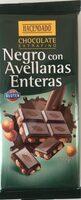 Chocolate negro con avellanas enteras - Producte