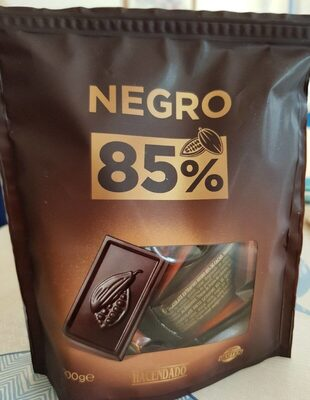 Chocolate negro 85% cacao - Producto