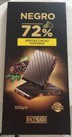 Chocolate extrafino negro 72% - Producte - es