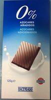 Chocolate extrafino con leche y endulcorante - Producto