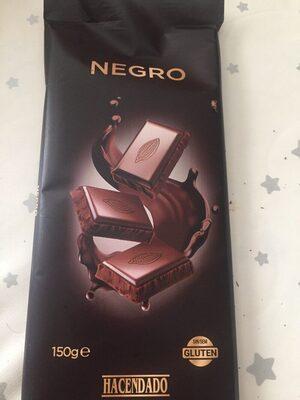 Chocolate extrafino negro