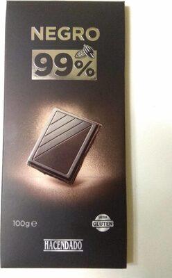 Chocolate negro 99%