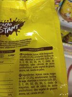 Cacao instant - Ingredientes - es