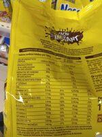 Cacao instant - Información nutricional - es
