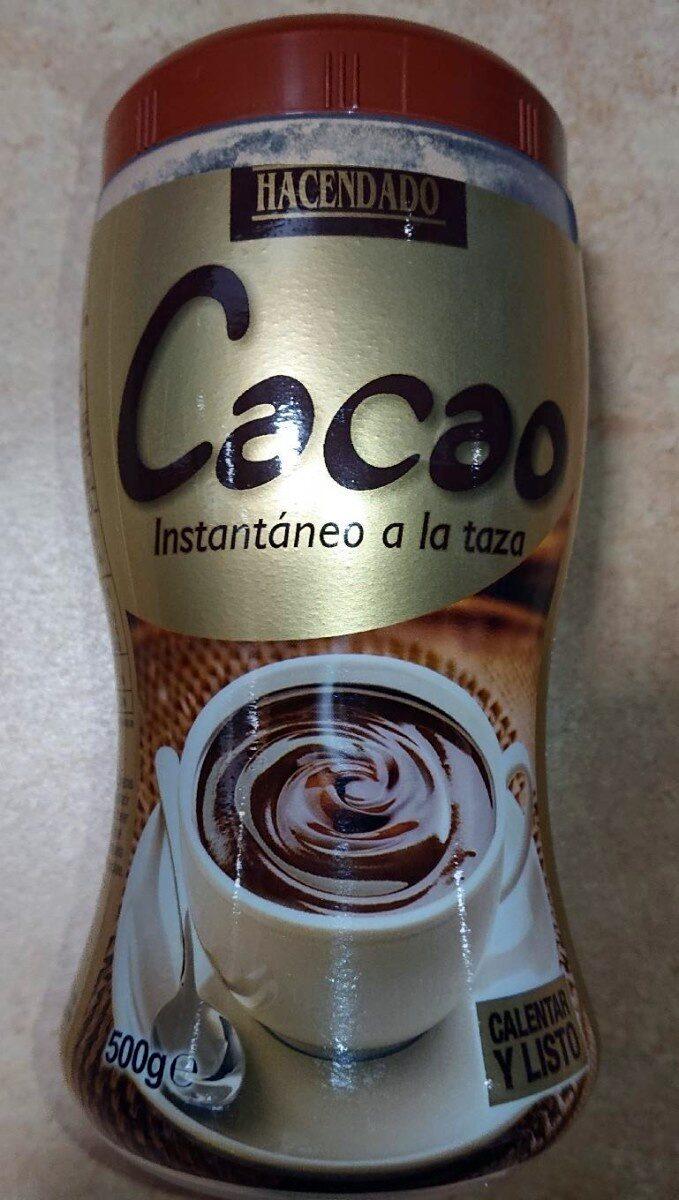 Cacao instantáneo a la taza - Prodotto - es