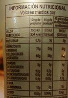 Cacao instantáneo a la taza - Valori nutrizionali - es