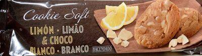 cookie soft limon&choco blanco - Prodotto - es
