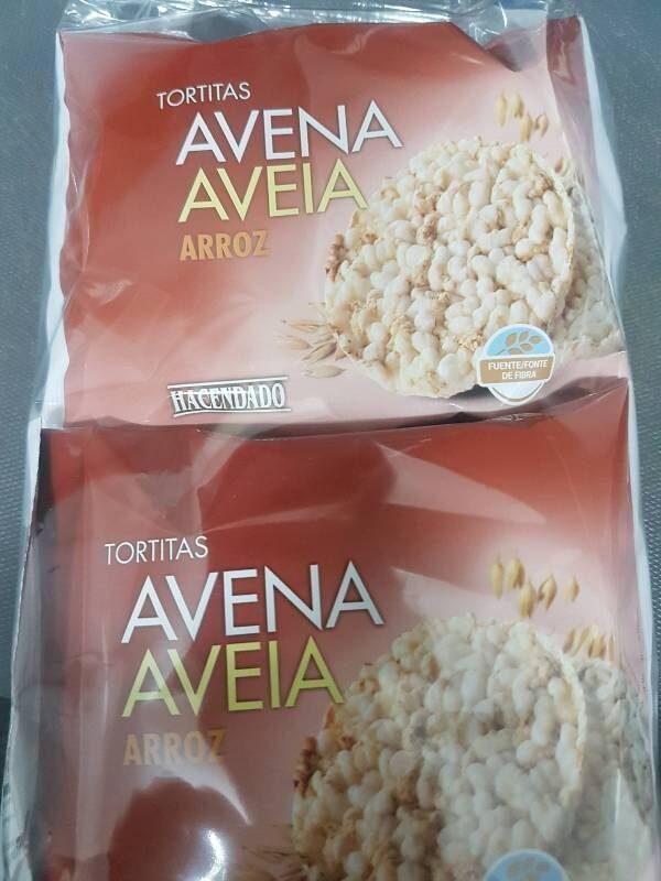 Tortitas de avena arroz - Prodotto - es