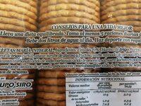 Maria integral - Ingredients - es