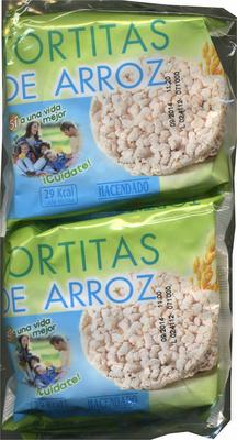 Tortitas de arroz - Producte